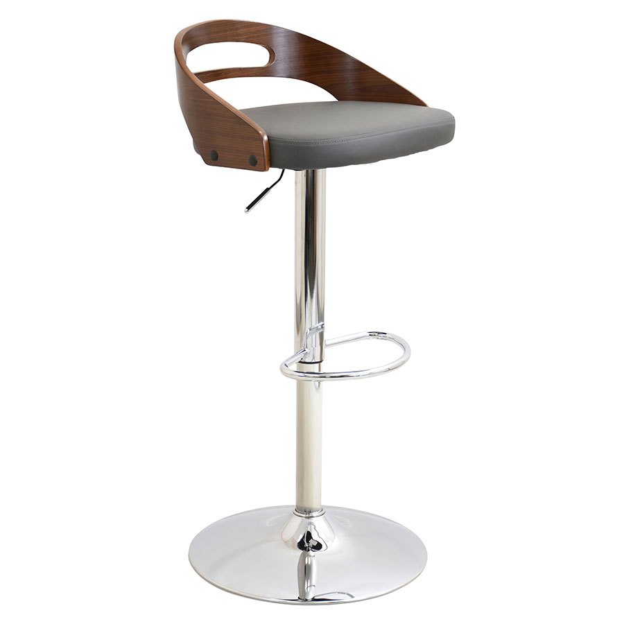Modern Stools Charleen Gray Adjustable Stool Eurway