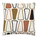 "Charles 22"" Olive + Rose Modern Pillow"