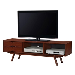 Charleston Modern Walnut TV Stand
