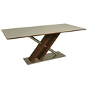 Charlie Modern Walnut Dining Table