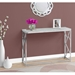 Chaves Contemporary Cement & Chrome Console Table