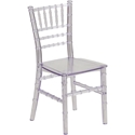 Chiavari Contemporary Kid's Chair Clear