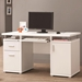 White Modern Chibuzo Desk Lifestyle