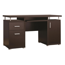 Chibuzo Contemporary Cappuccino Desk