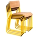 Church Stacking Chairs by Gus Modern