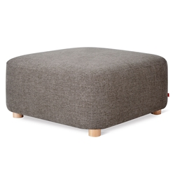 Gus* Modern Circuit Moular Ottoman in Bayview Osprey Fabric
