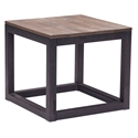 Clarice Contemporary Industrial Side Table