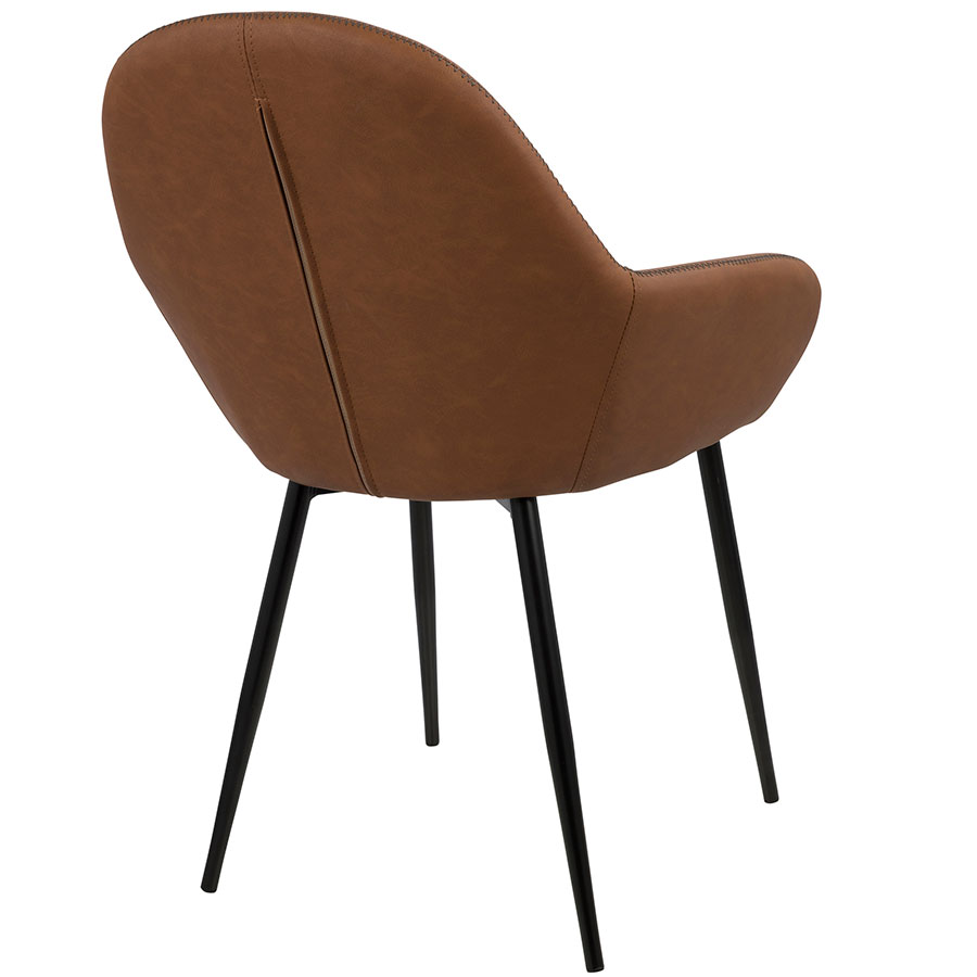 Modern Dining Chairs Clarion Brown Dining Chair Eurway