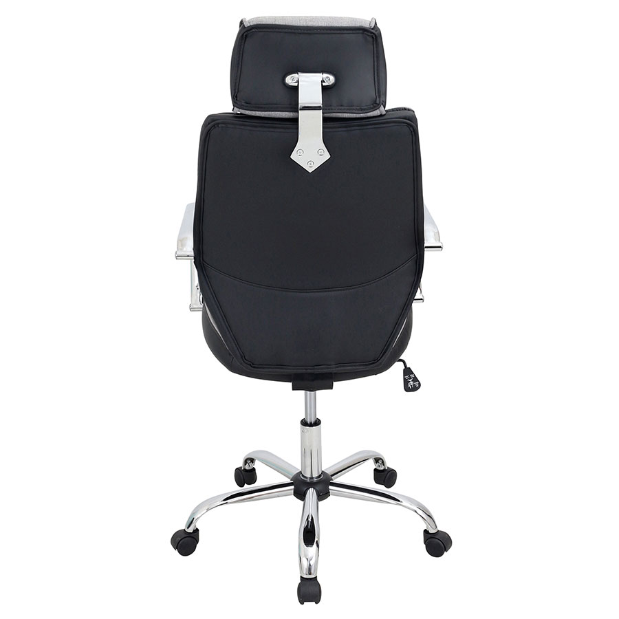 Office chair back view -  Clarion Modern Executive Office Chair Back View