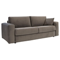 Cloud Modern Sleeper Sofa in Dark Grey by Pezzan