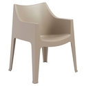 Coccolona Modern Outdoor Chair in Dove Gray