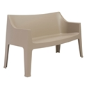 Coccolona Modern Outdoor Sofa in Dove Gray