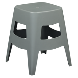 Coda Gray Modern Dining Stool
