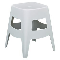 Coda White Modern Dining Stool