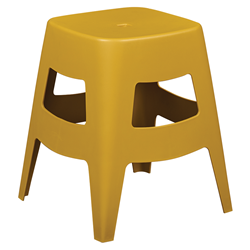 Coda Yellow Modern Dining Stool