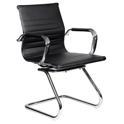 Colorado Modern Black Conference Chair