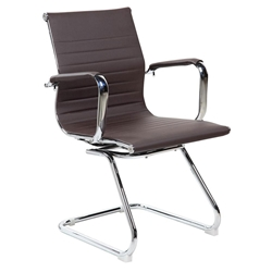 Colorado Modern Brown Conference Chair