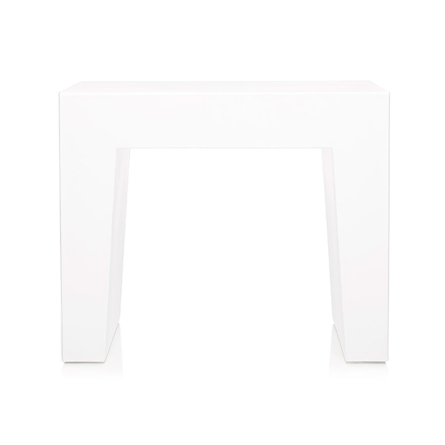 Fatboy Concrete Seat White Indoor Outdoor Stool