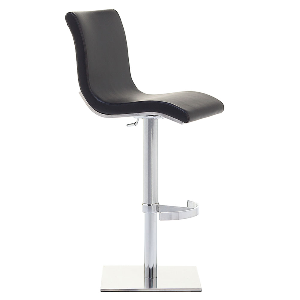 Condor SGT Adjustable Bar Stool in Black by Pezzan