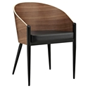 Conley Modern Arm Chair Black