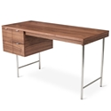 Conrad Contemporary Desk in Walnut by Gus Modern