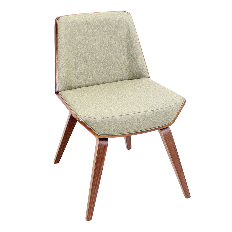 Constance Green Modern Side Chair