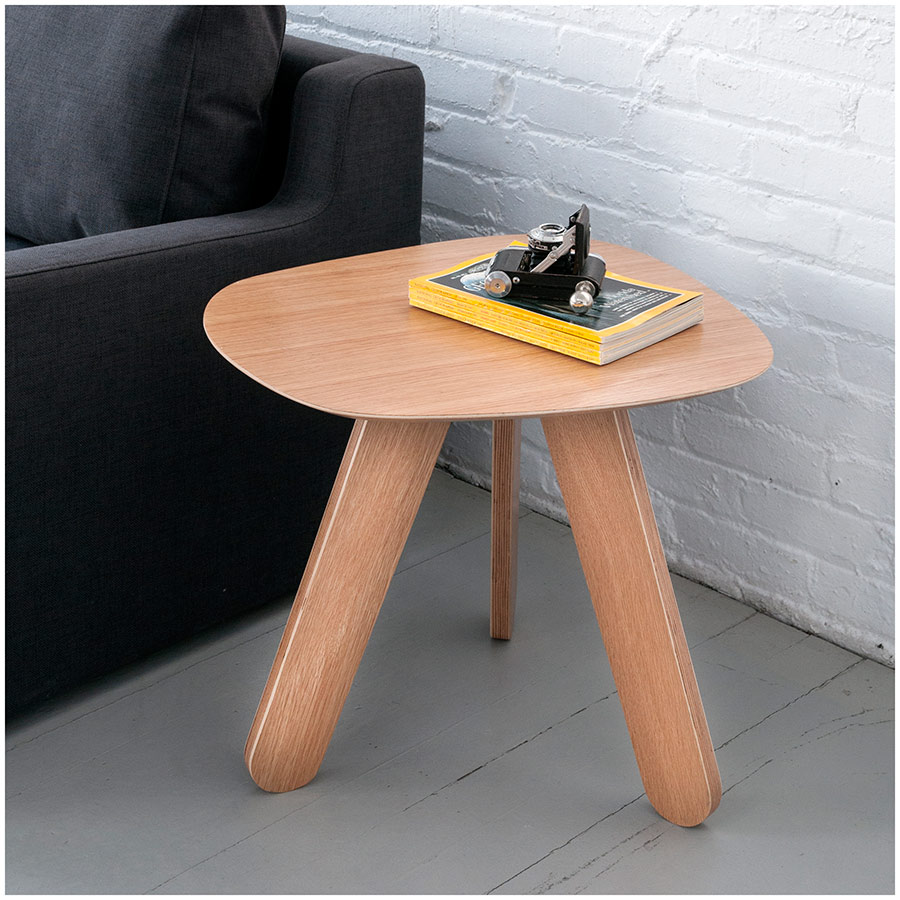 Gus Modern Cooper End Table In Natural Oak Eurway - Cooper end table