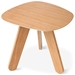Cooper Contemporary End Table in Natural Oak by Gus Modern