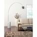 Contemporary Classic Modern White Marble Lamp