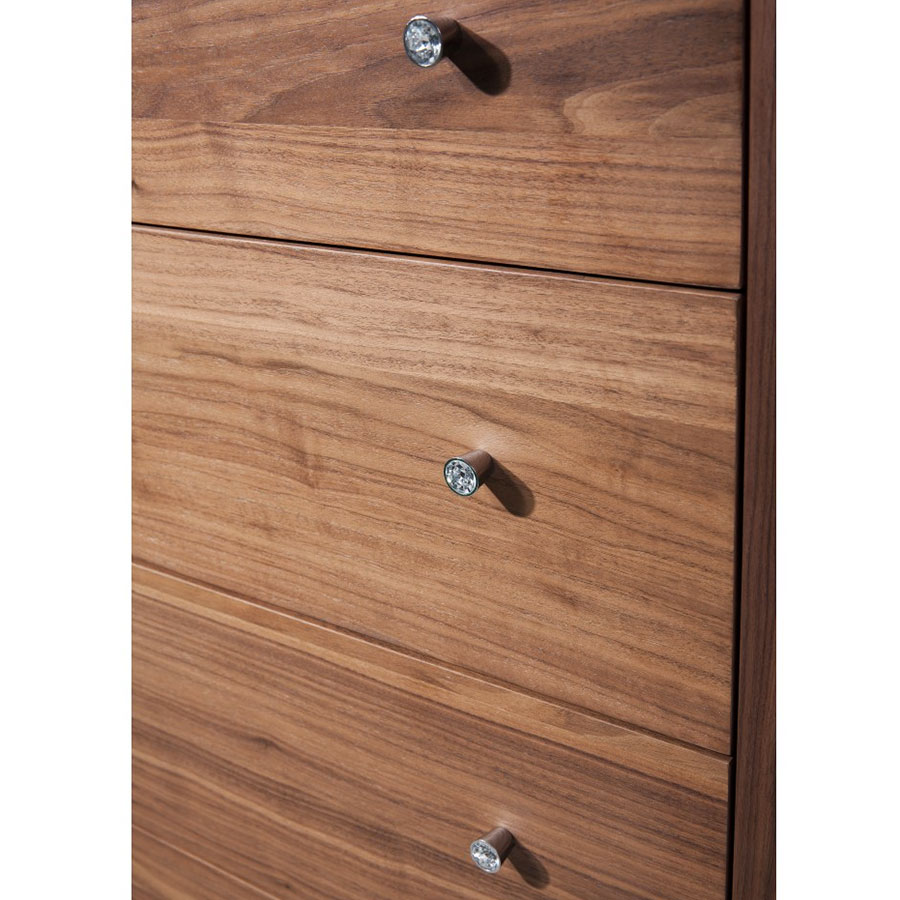 Cordoba Walnut Chest of Drawers Detail