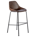Corinna Modern Bar Stool in Brown by Euro Style
