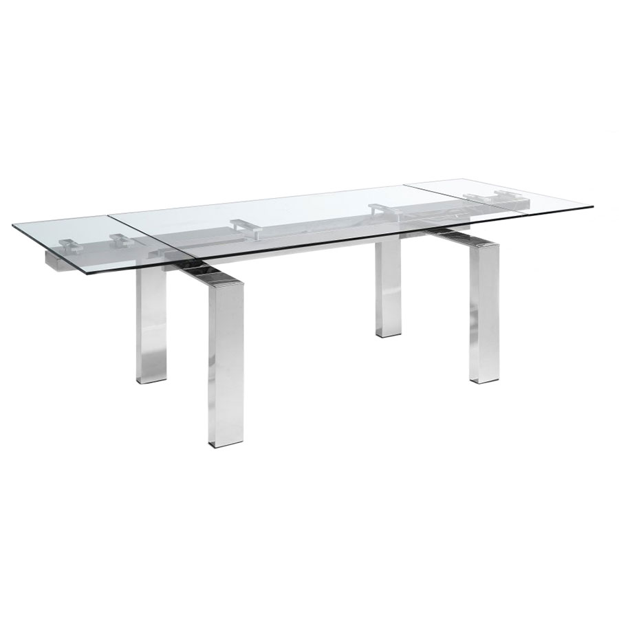 Corinne Extension Dining Table Extended