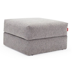 Cornila Modern Storage Ottoman in Light Grey by Innovation