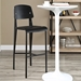 Cornwall Contemporary Black Bar Stool