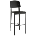 Cornwall Modern Black Bar Stool