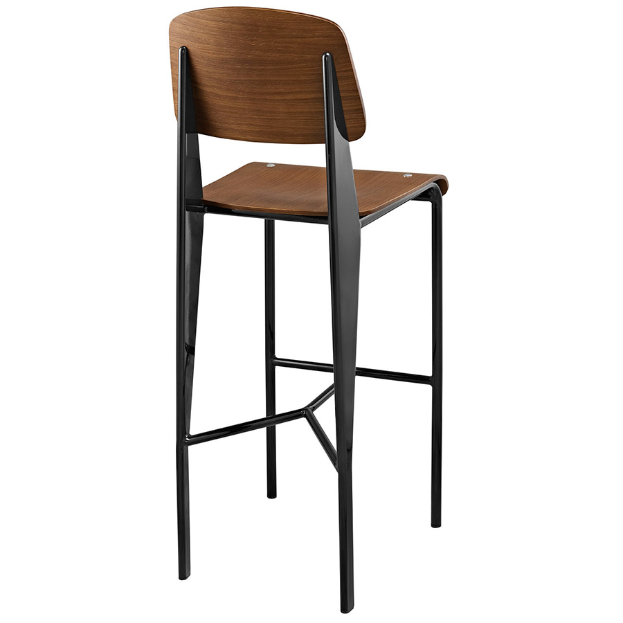 bar with lacquered appealing stools backs footrest birch leather also dark brown pretty counter stool wood wooden and seat round black stunning interior back