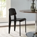 Cornwall Black Contemporary Dining Side Chair