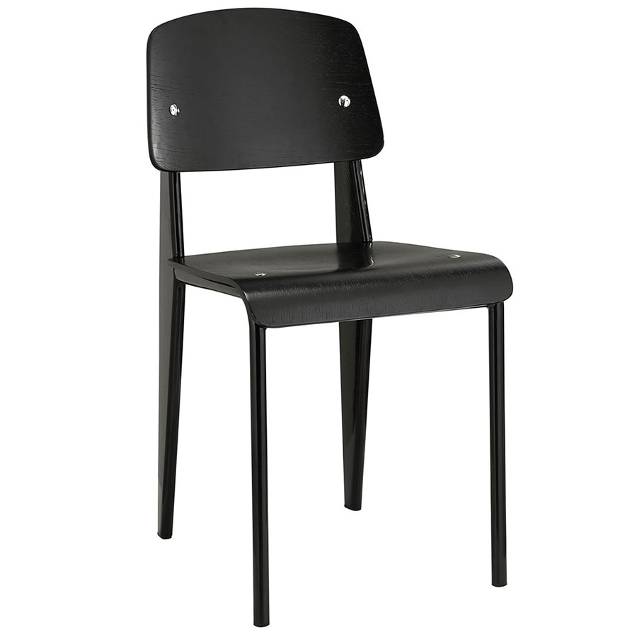 Cornwall Black Modern Side Chair