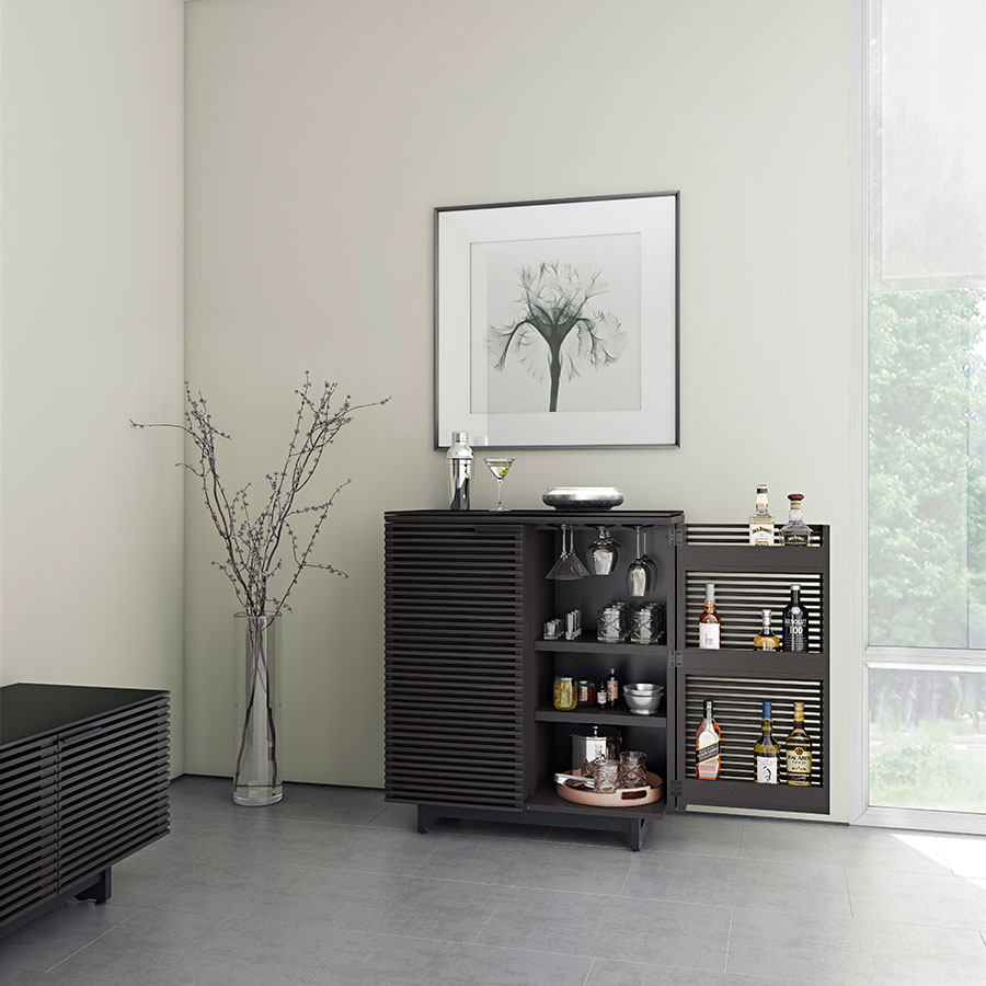 Bdi Corridor Modern Bar In Charcoal Eurway Furniture