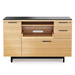 BDI Corridor White Oak Contemporary Cabinet