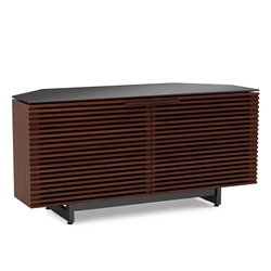 Corridor Chocolate Corner Contemporary TV Stand