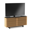 Corridor Oak Corner Contemporary TV Stand by BDI