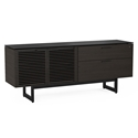 BDI Corridor Charcoal Stained Ash Contemporary Credenza