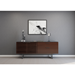BDI Corridor Chocolate Stained Walnut Contemporary Office Credenza