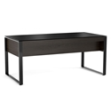 BDI Corridor Charcoal Executive Contemporary Desk