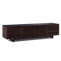 Corridor Chocolate Low Contemporary TV Stand