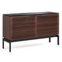 BDi Corridor SV 7128 Chocolate Stained Walnut Modern Media Console