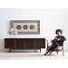 Corridor Wide TV Stand by BDI - Lifestyle