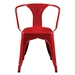 Cynthia Red Contemporary Arm Chair