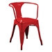 Cynthia Red Modern Arm Chair